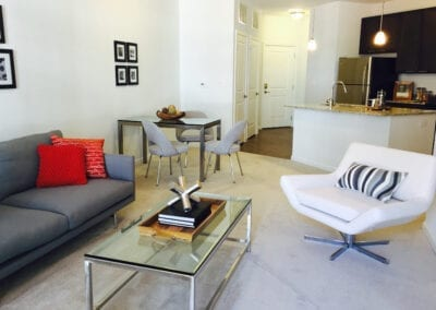 Element at stonebridge-1 bedroom living area